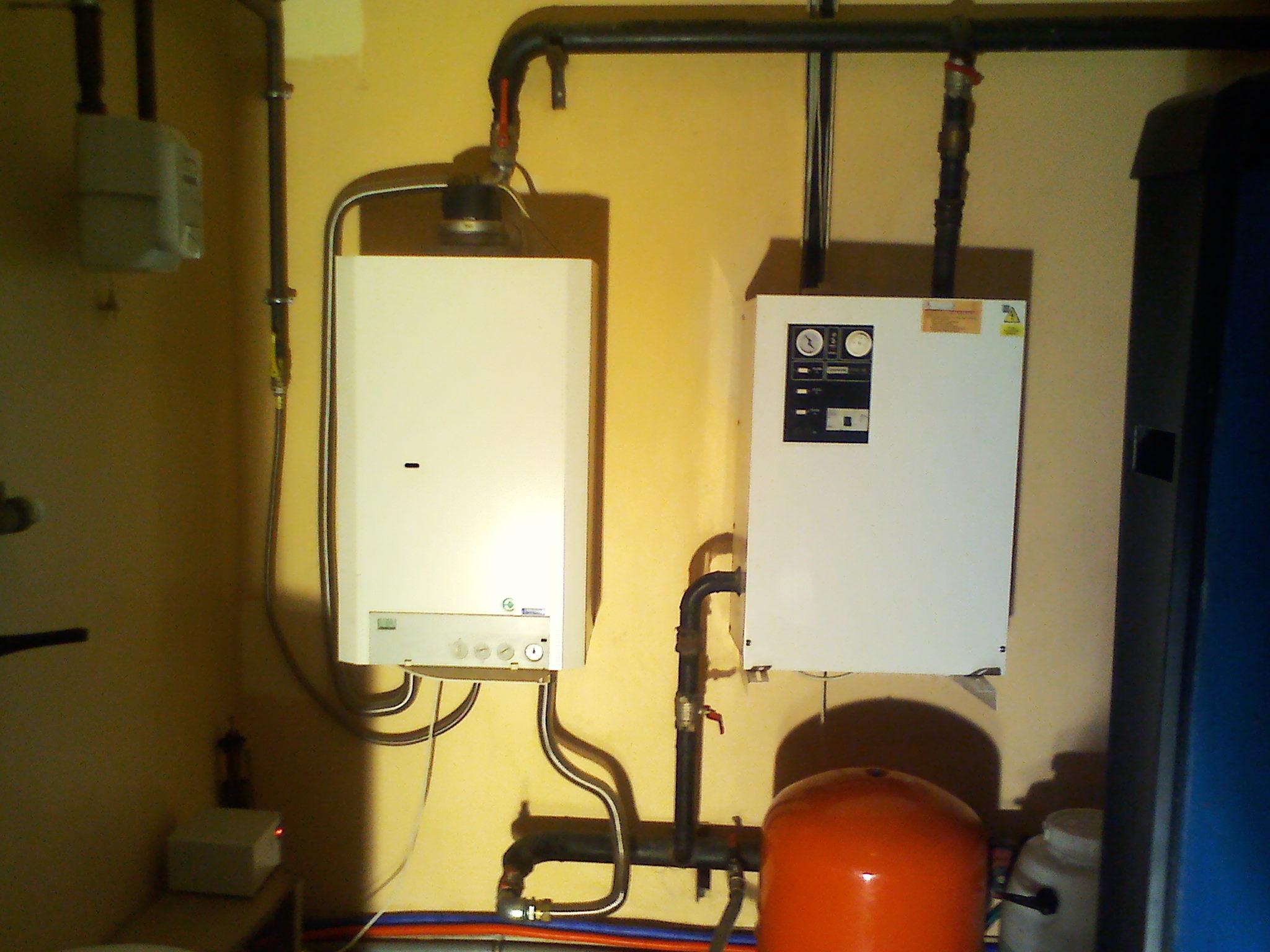 Отопление частного дома гидроаккумулятор